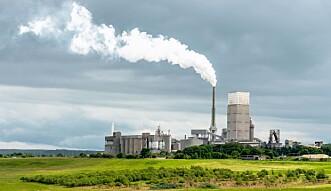 UTSLIPP: I dag står sementproduksjon for åtte prosent av klimagassutslippene i verden.