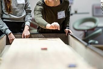 Bransjetreff med shuffleboardturnering