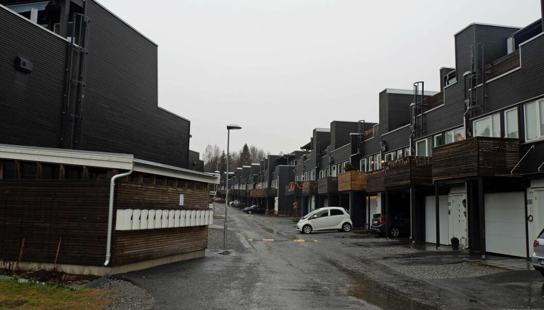 IKKE BEVIST: Fire–fem år etter at boligene var ferdige, ble det oppdaget skjeggkre. Det holder ikke til å få erstatning, har Follo tingrett slått fast.