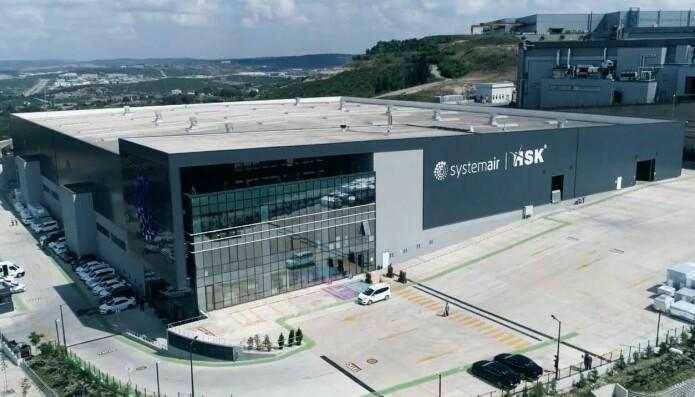 Systemair har åpnet en ny fabrikk i Istanbul.