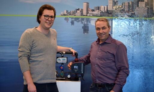 Verdens første pumpe med miljøbekreftelse