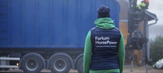 Forvandler hestemøkk til boligvarme