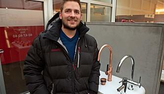 TAPPETENKNING: Det er lett å fokusere på tappevannet, innrømmer Petter Normann Næss.