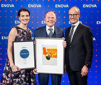 Bransjeveteran tildelt Enovaprisen