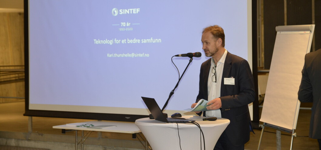 Jan-Erik Kleven, daglig leder i Camfil på ERFA-konferansen 2020.