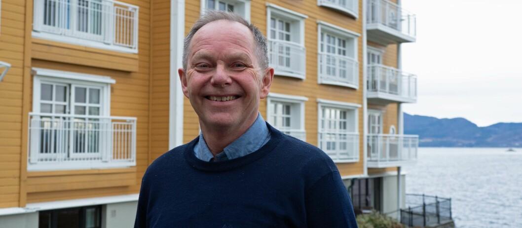 MARKEDSOPTIMIST: Tor Olsen har 35 år bak seg i energieffektiviseringens tjeneste. Nå varsler han kjempemuligheter de ti nærmeste årene.