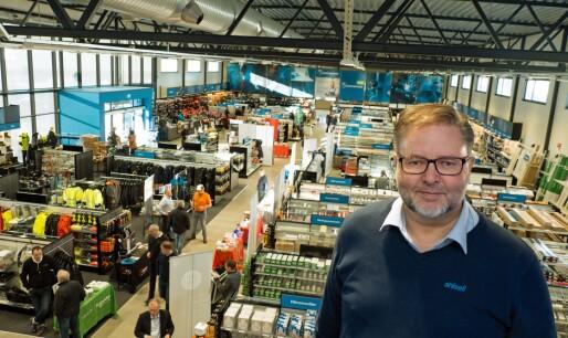 Åpnet kjøpesenter for fagfolk