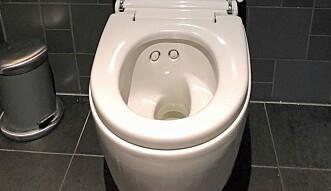 ATTRAKSJON: På Omakase-restaurantene i Stavanger og Oslo får gjestene aktiv oppfordring til å bruke toalettet – et Geberit Aquaclean Mera – i løpet av måltidet.