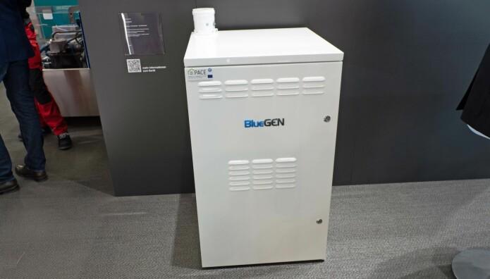 STRØM: Bluegen er brenselsceller som varmer opp huset, men som samtidig produserer strøm.
