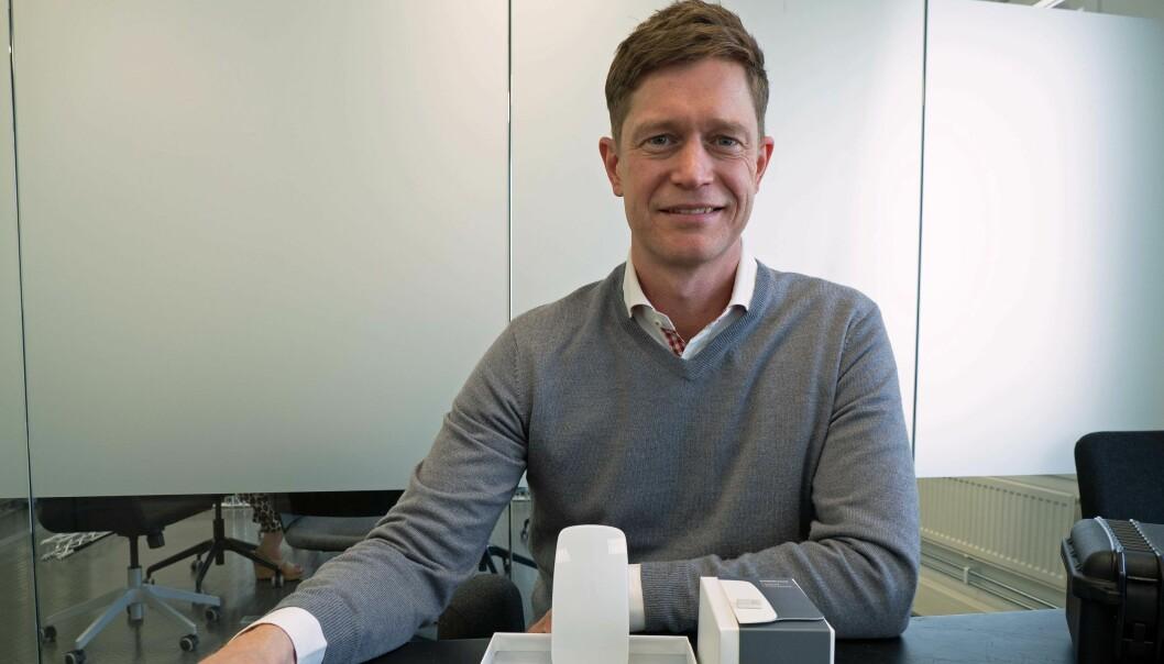 VEKSTVINNER: Ole Petter Novsett og Disruptive Technologies er en av sju sensor-, smarthjem- og bygningsenergibedrifter på listen over de femte teknologiselskapene som vokser raskest.