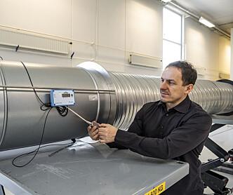 Måling i kanalnettet stjeler energi
