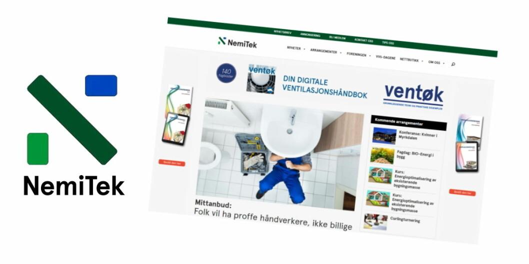 STØRST: NemiTek.no alene generer gjennomsnittlig over 25 000 unike brukere i måneden, og 60 000 sidevisninger.