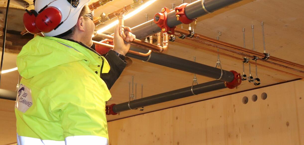 Rørlegger-installasjonene på 230 nye studentboliger i Fredrikstad utføres av RørCompagniet AS. De har benyttet Viega pressystemer i dette prosjektet.