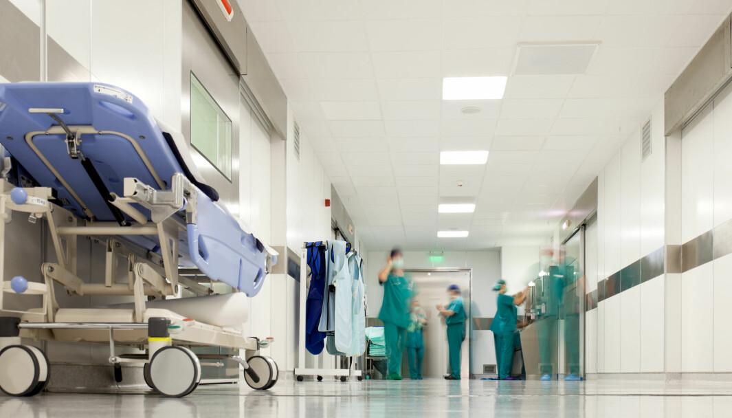 SYKE AV SYKEHUSET: I USA er det å bli lagt inn på sykehus, den tredje største årsaken til død. Flere dør av sykehusinfeksjoner enn av hjerte- og karsykdommer