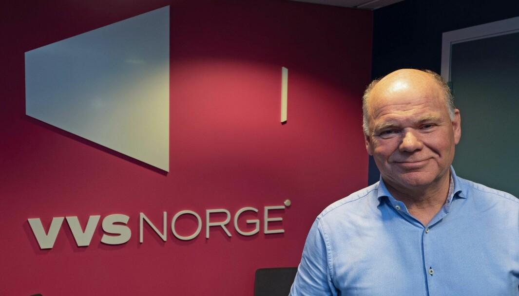 HAR SATT KRISESTAB: VVS Norge-sjef Thorbjørn Theie.