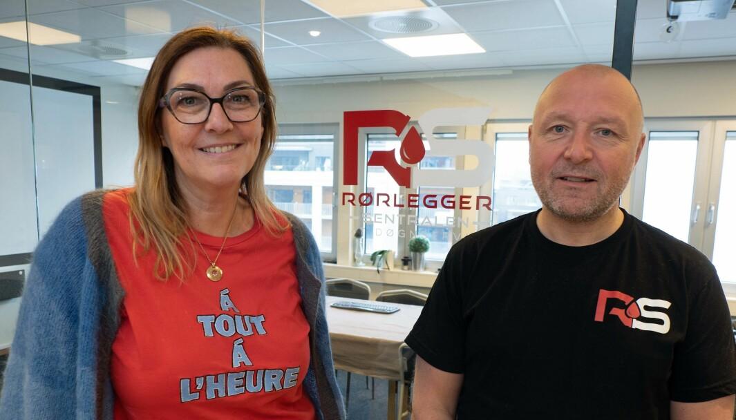 TJENER: Gry og Gunnar A. Ludvigsen skal ikke under 15 prosent i årsresultat.