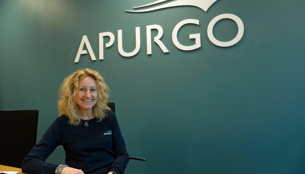 ARBEIDSPLASSER: Apurgo-sjef Lise Marie Nergaard vil gjerne trygge egne arbeidsplasser og samtidig bidra til at rørleggerne får flere oppdrag.