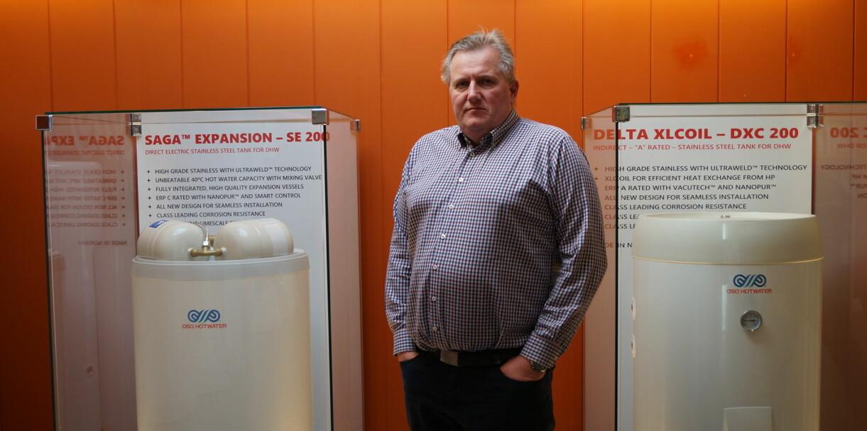 Teknisk ingeniør i OSO Hotwater, Terje Larsen