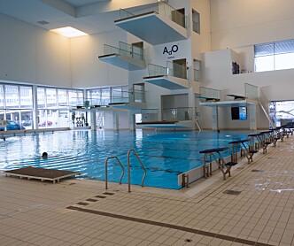 Korona-trygt i svømmehallen