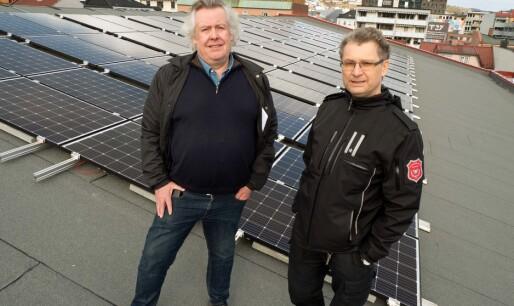 Solceller på brannstasjonen: Miljø, ikke butikk
