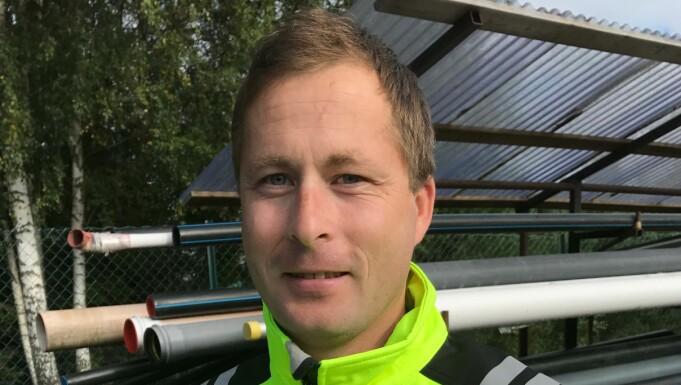 GRÜNDER: Thomas Nilsen står bak Norges Rørleggere, som har passert ti år og 11 000 medlemmer.