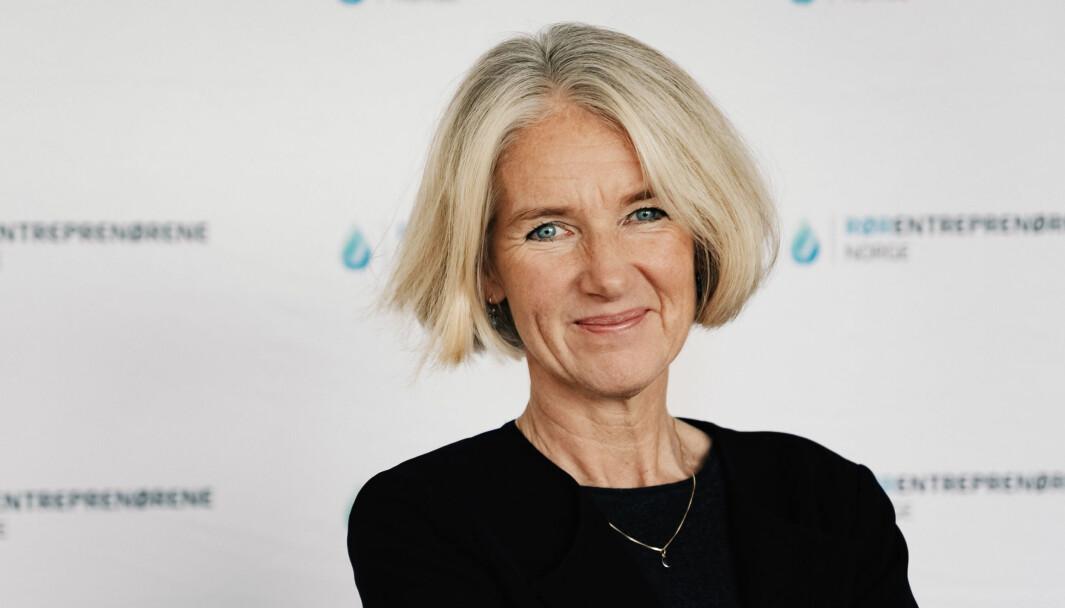 ADVARER: – Konsekvensene blir store hvis dette markedet får ligge brakk for lenge, sier administrerende direktør Marianne W. Røiseland i Rørentreprenørene Norge.