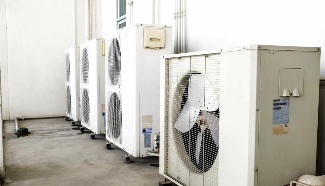 STENGES: Virusstengning har mer enn halvert HVACR-produksjonen i Europa.