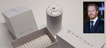 Ny løsning trykktester næringsbygg: Små sensorer, store besparelser