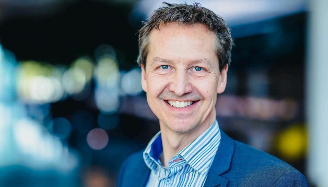 GÅR INTERNASJONALT: Marcus Kanewoff og Free Energy har fått med seg Skanska som referansekunde og Innovasjon Norge som markedsfører. Nå er trondheimsselskapet i forhandlinger med nye investorer.