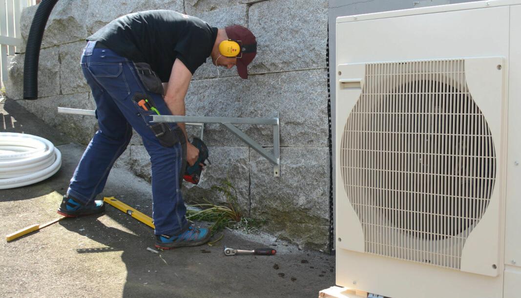 Korona har gitt størst problemer til varmepumpeleverandørene.