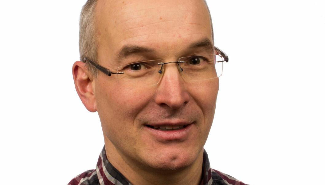 SVARER: Styreleder Armin Hafner i Norsk Kjøleteknisk Forening.