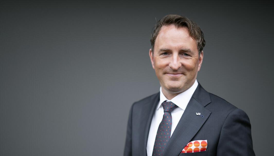 Øystein Kjellsen, daglig leder i rørleggerkjeden VB.