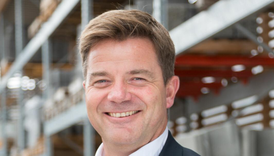 Konsernsjef Knut Strand Jacobsen i Kesko Norge.