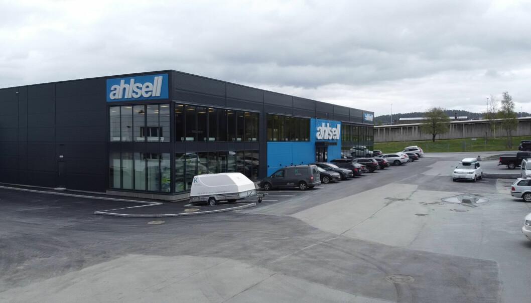 KLART FOR ÅPNING: Den nye butikken på Tunga åpner dørene tirsdag 2. juni kl. 07.00