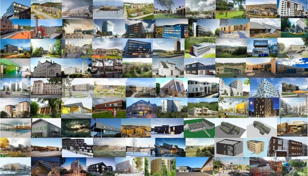 Materialbruk i bygninger står for en stor andel av de totale klimagassutslippene