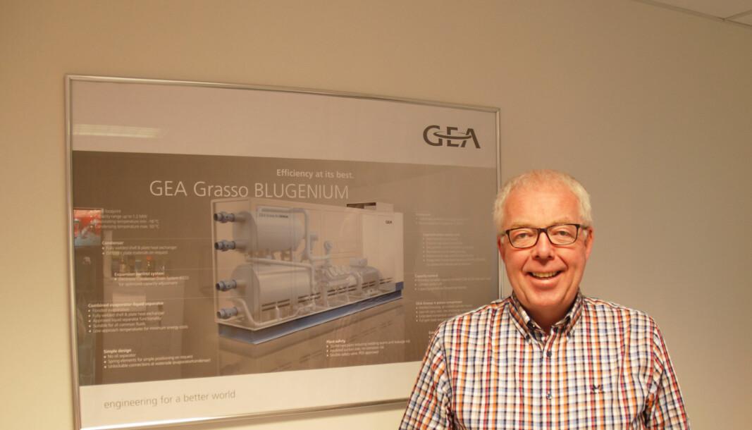 I VINDEN: Tidligere ble varmtvann vurdert som en liten andel av energiforbruket, og man var ikke så opptatt av det. Nå er oppmerksomheten langt større, forteller Ole Jørgen Veiby.