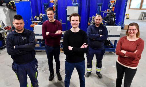CERN-anlegget er levert