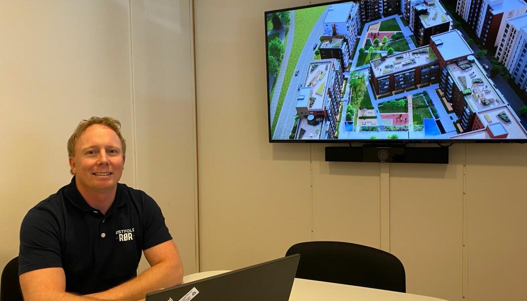 Tommy Olsen har vært hos Østfold Rør i fjorten år, og har vært både rørlegger, BAS, arbeidsleder og nå er han prosjektleder-trainee.