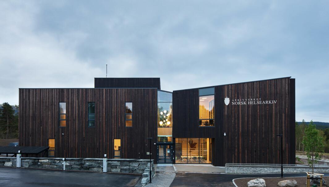Norsk helsearkiv på Tynset er en av Statsbyggs eiendommer som skal driftes og styres gjennom GK Cloud.