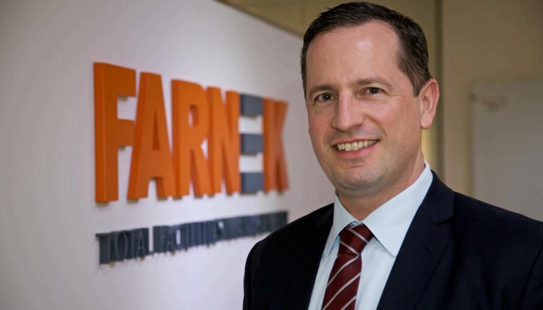 KONKURRANSE: – Det tok to år fra sertifiseringen til vi kunne høste de første fordelene, forteller Markus Oberlin. Han leder Farnek i Dubai – et marked i rask utvikling og med knallhard konkurranse.