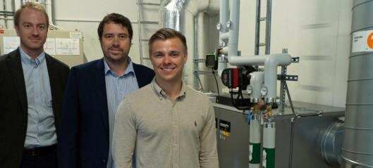 Gammelt lagerbygg hjelper Norge nå klimamål