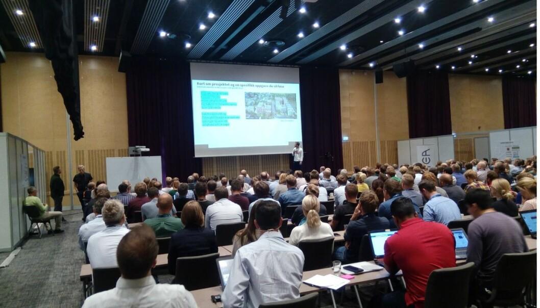 KURS: Bilde fra NTNUs VDC-kurs på GArdermoen i 2019.