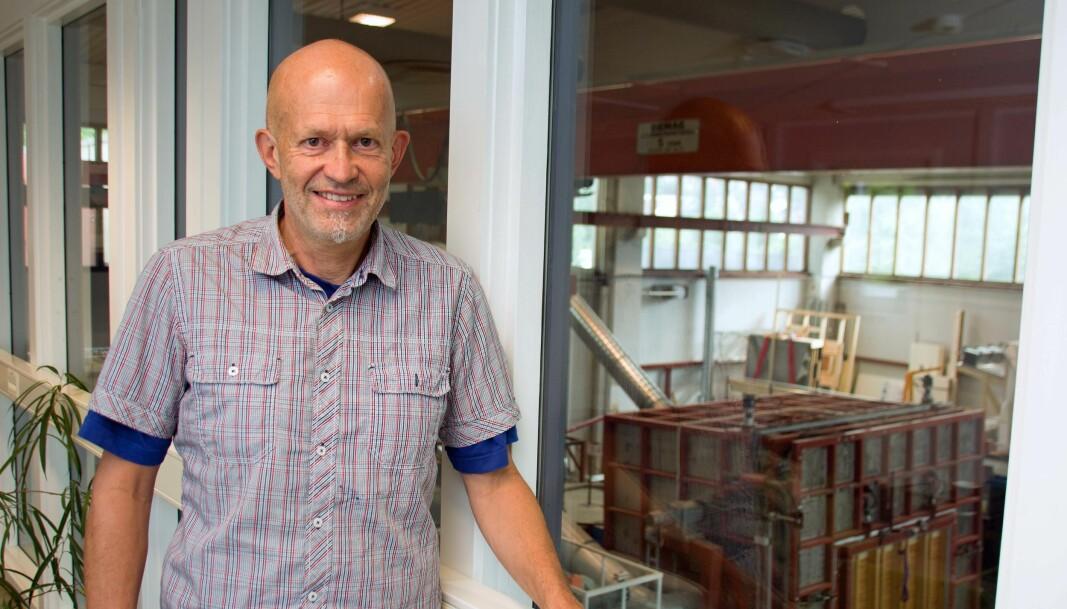 VEILEDER: Anders Homb har revidert anvisningen om støy i Byggforsk-serien.