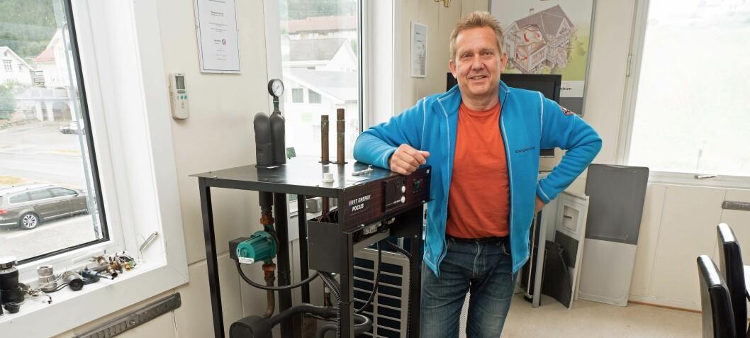 Kuldeentreprenør startet egen rørleggeravdeling