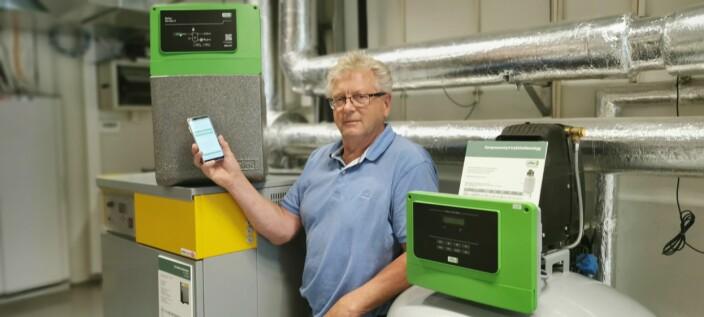 Hvordan bli kvitt gasser i lukkede energianlegg?