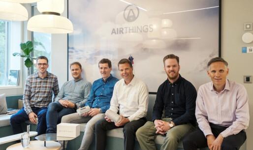 Airthings kjøper Airtight