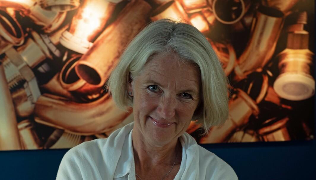 ORDREBEKYMRET: Marianne W. Røiseland er bekymret for ordreinngangen til medlemsbedriftene.
