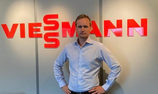 Ny Viessmann-sjef med ambisjoner