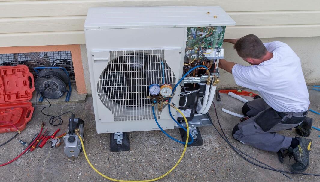 BETALT: Den italienske statskassen betaler folk for å bytte til varmepumpe.