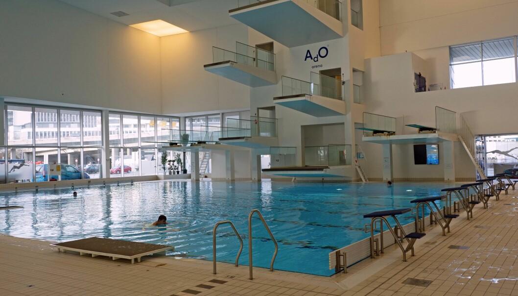 VIRUSDREPENDE: Svømmehaller og badeland er for varme og fuktige til at koronaviruset trives, ifølge den globale bransjeorganisasjonen for sports- og fritidsanlegg.